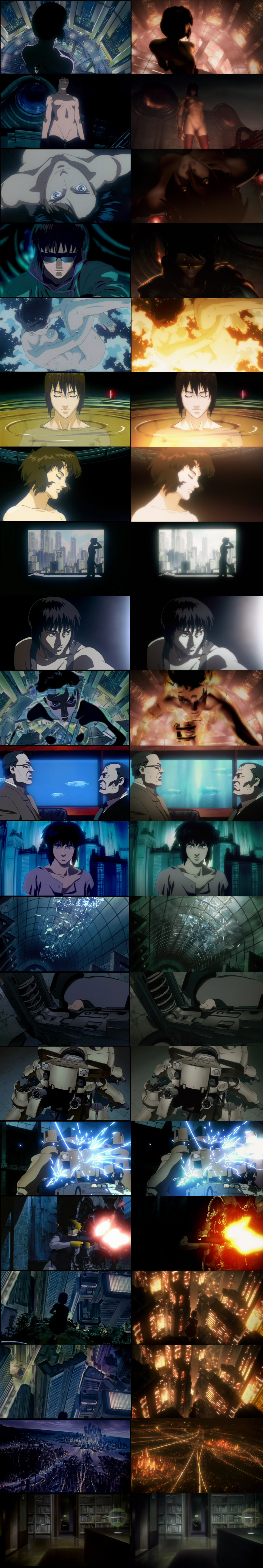 Anipages Discussion Forum View Topic Ghost In The Shell 2 0 Comparison