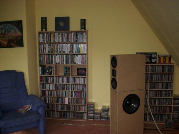 zeigt her eure cd regale racks lowboards ls st nder aufbewahrungssysteme hifi forum. Black Bedroom Furniture Sets. Home Design Ideas