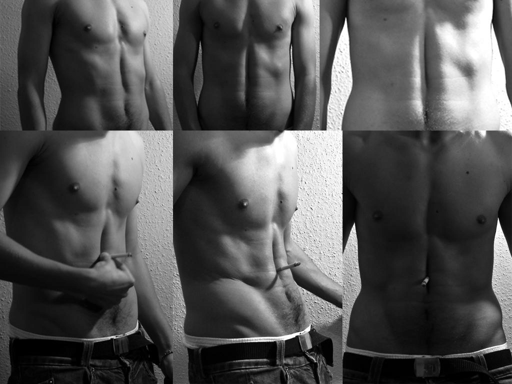 Bauchmuskeln quer adduziern / wer kann das noch ?