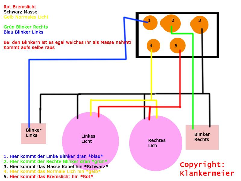 Gemütlich Rücklicht Schaltplan Fotos - Der Schaltplan - traveltopus.info